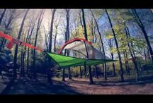 Tentsile Connect Hammock Tent / The best camping tree tent aka portable treehouse! The Tentsile connect is one of the best 2-person hammock tents.