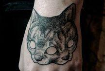 Τατουάζ με γάτες