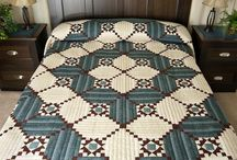 Quilts---- Log Cabin