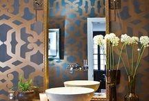 Moroccan Chic / Moroccan Chic bathroom design