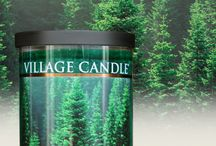 Village Candle (tumbler - decor)
