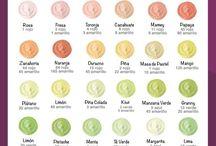 Colores de betún