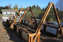 garden on railings
