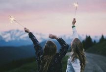 Fotos para imitar con amigas