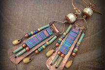 Σκουλαρίκια με χάντρες