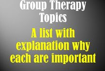 Therapy- groups/ sensory/ motor skills/ team building / by Katie Bristol