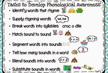 School - Phonemic Awareness / by Cristine Niles