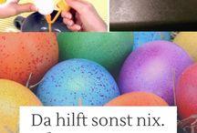 Osterallerlei / Alles rund um Ostern. Backen, Deko, Basteln