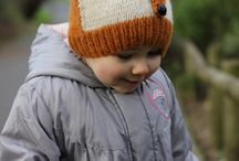 Knitted hats for girls