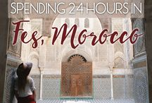 Africa // Morocco / Travel around the country of Morocco in Northern Africa