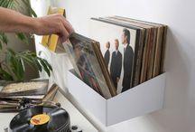 Vinyl and CDs storage