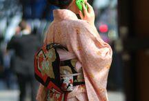 Japanese Tradition - Kimonos