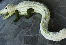 Floral animals / Jan Wadham Flowers creations