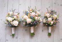colour: blush / wedding flower inspiration using blush pink