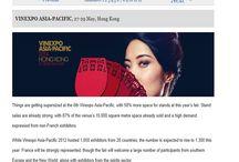 Vinexpo Asia-Pacific 2014 - Press Coverage