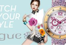 VOGUE Watches! New Collection Spring - Summer 2014