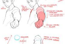 腕のスケッチ