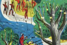 Roger Duvoisin -  Illustrator / One of my favourite illustrators Roger Duvoisin.