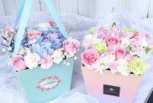 cutiute cu flori