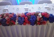 Kilka migawek z przygotowań do przyjęcia weselnego