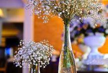 arranjos e flores