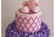 Purple & Pink babyshower theme