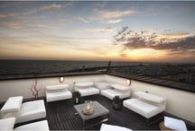 Stunning terraces: do nothing but relax and enjoy the view!