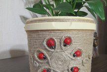 Декорирование из джута
