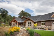 Ranch House Plan 9215 / Check out all 19 photos and further details at: https://www.thehousedesigners.com/plan/whitworth-9215/