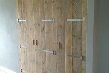 VERKOOP | Kasten van steigerhout