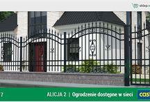 Ogrodzenie klasyczne ALICJA 2