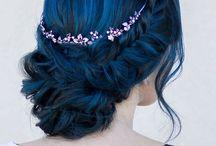 blue hairrrr