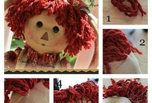 dolls / by Primitive and Lace