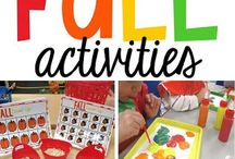 Fall Teaching Ideas / Fall classroom ideas, teaching ideas for autumn, fall books, fall lessons, elementary ideas for fall, autumn classroom ideas, halloween teaching ideas, thanksgiving classroom ideas, fall activities