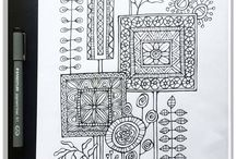 Floating Lemons Colouring Pages / A collection of colouring pages for a coloring book to-be by Floating Lemons