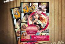 Ideias e Tal / Flyer / Algumas criações exclusivas para papelaria. www.ideiasetal.com.br
