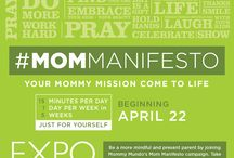 Mom Manifesto: To be a #MindfulMom / An online workshop towards mindful parenting Http://www.expomom.com/mommanifesto