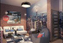 Loft / Chambre style loft