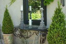 french outdoor decor