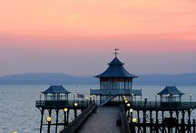Clevedon Pier / The Victorian Pier in Clevedon, North Somerset