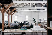 Open Office Design / Desks, open office design, open environment, acoustics, design, interior design, office design, collaborative, collaborative office, collaborative design