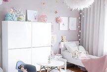 Pienen tytön huone