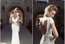 Wedding dress idea's