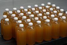 Ginger Lemongrass production / Chimera drinking vinegar production line.