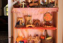 Speelgoed / Prachtig houten en vilten speelgoed
