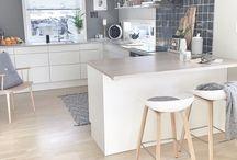 Kjøkken / Ideer til kjøkkenet i beverveien