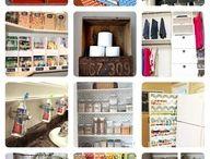 A Storage Shelves / Old Storage looking Shelves-Dressers