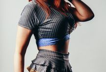 Veda Scott / woman of Honor and Indy wrestler.