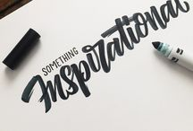 Kaligrafia / Calligraphy and handwriting