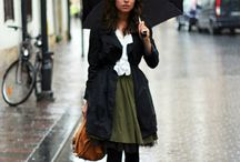 Rainy Season Fashion!